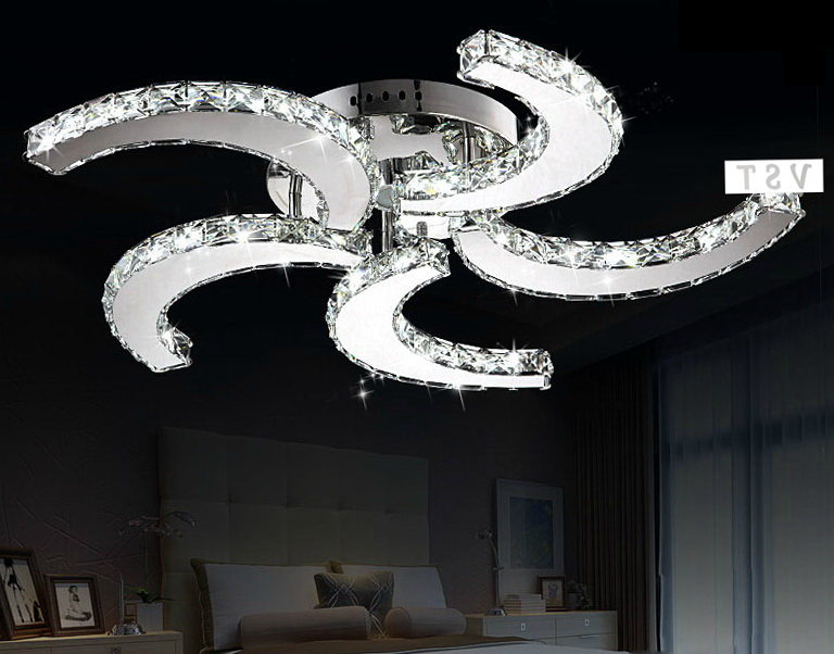 Crystal Chandelier Ceiling Fan Combo Home Design Ideas