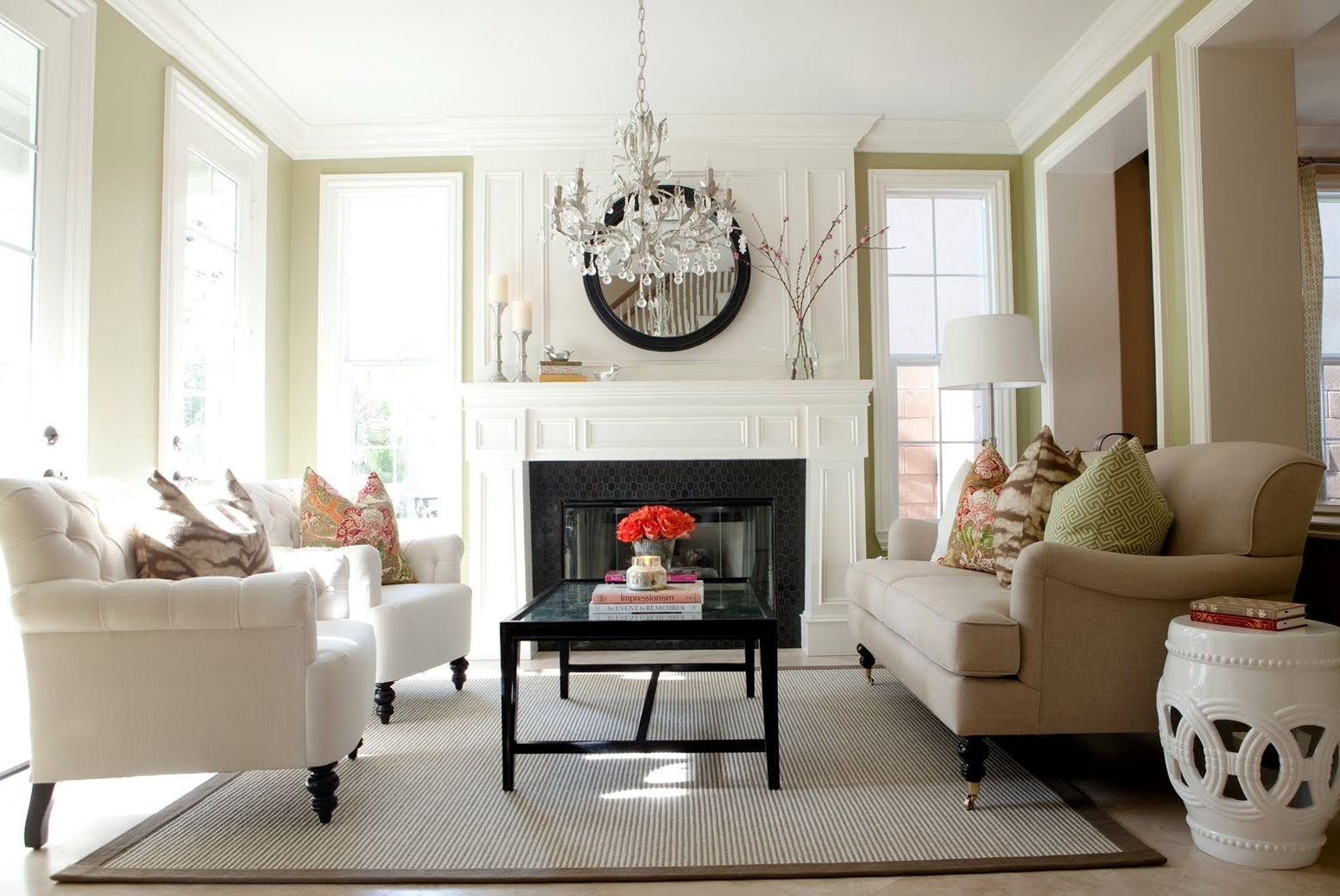 Crystal Chandelier For Living Room Home Design Ideas