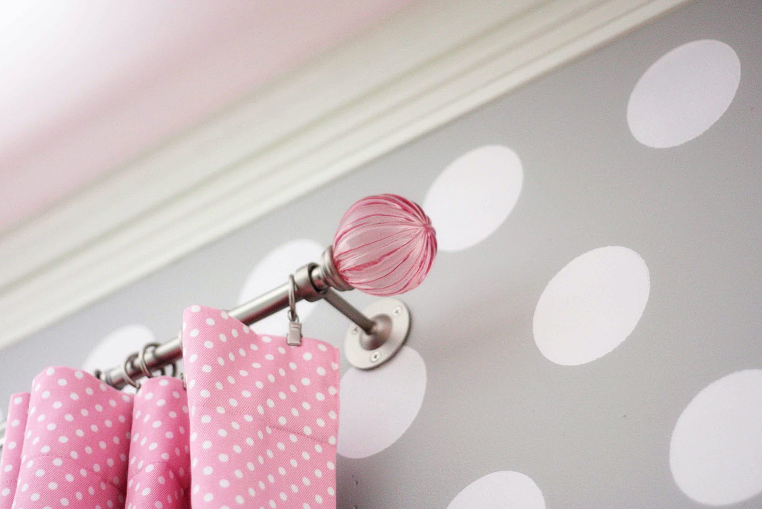 Curtain Rod Finials Kids