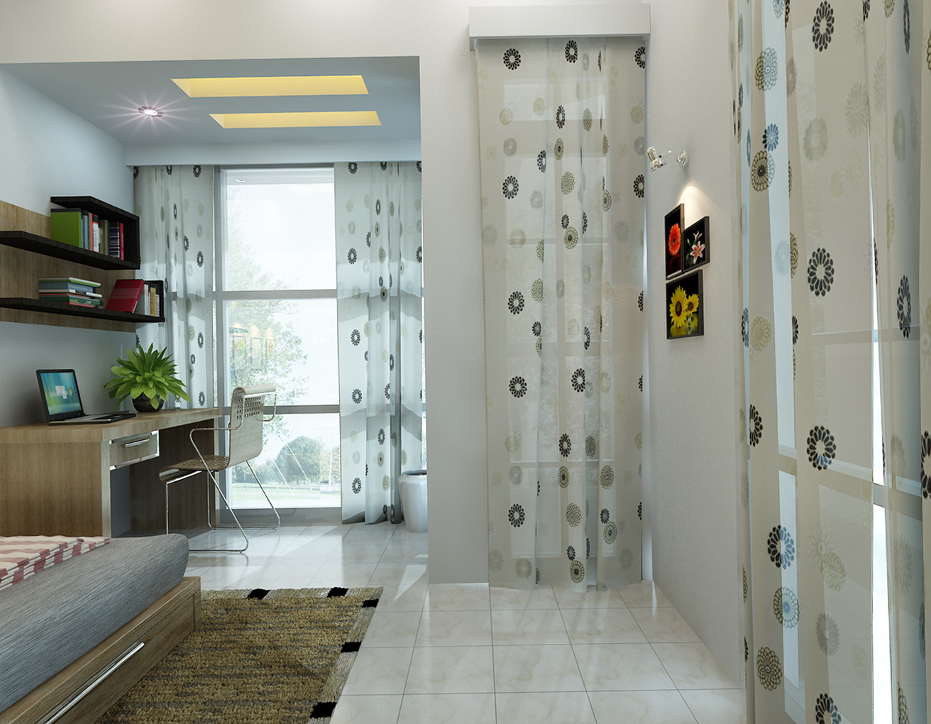 Curtain Room Dividers For Kids