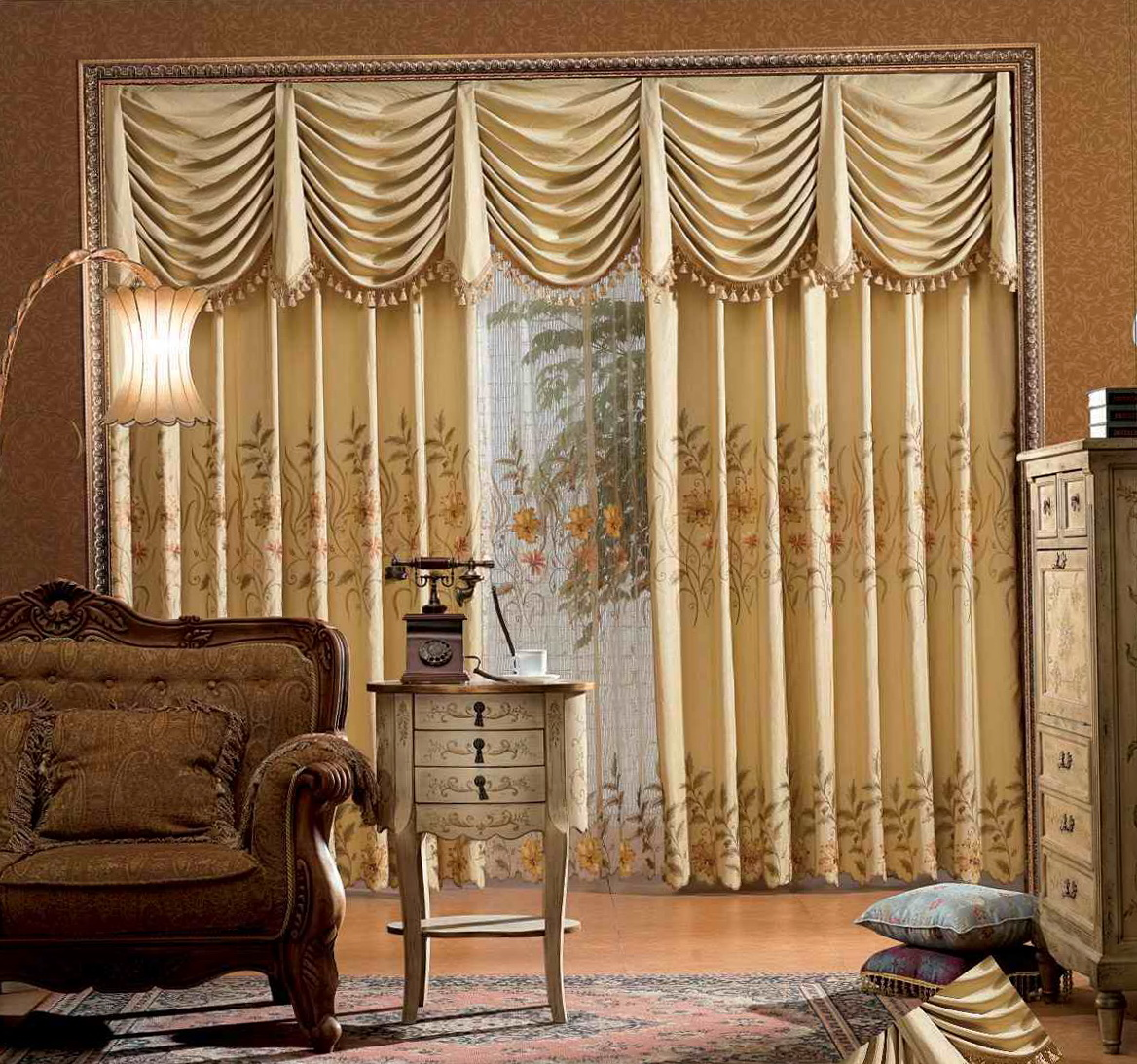 Curtains And Drapes For Living Room