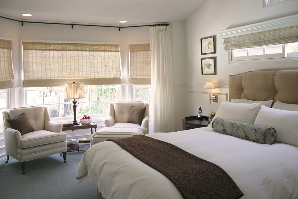 Curtains For Bay Windows In Bedroom