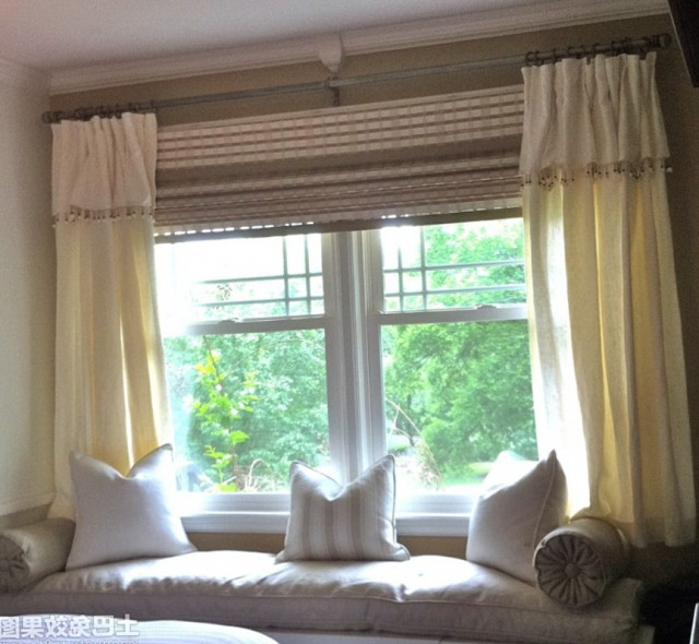 Curtains For Bay Windows With Seat