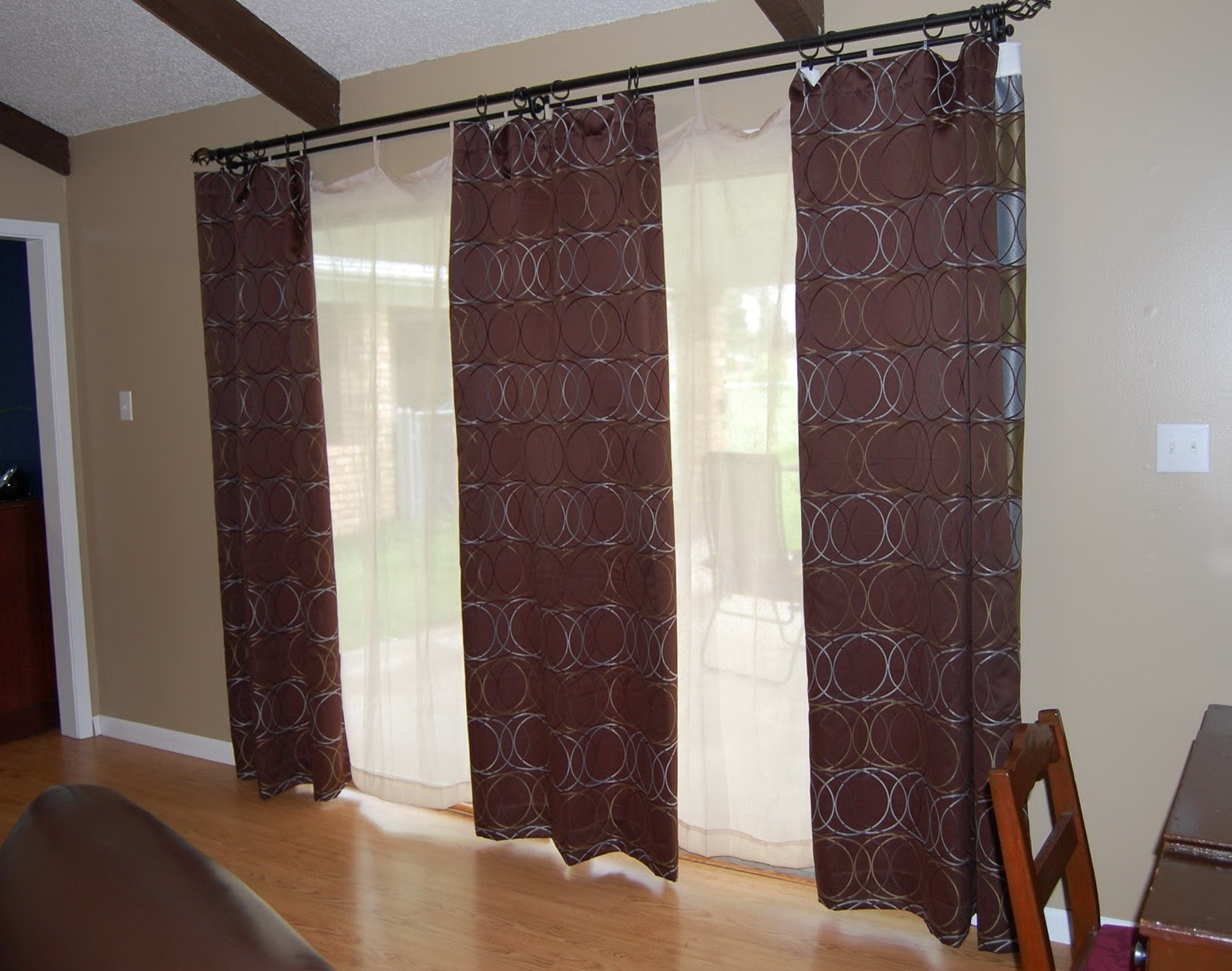 Curtains For Sliding Doors Ideas