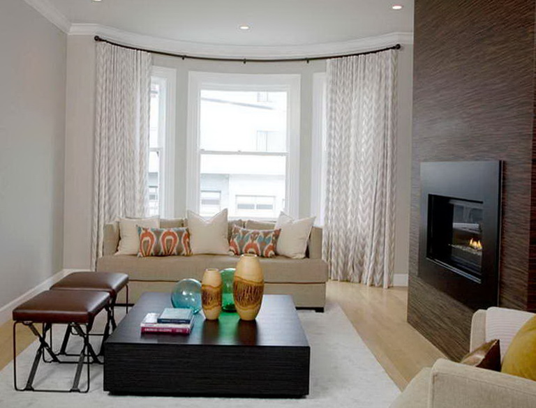 Curtains For Windows In Living Room