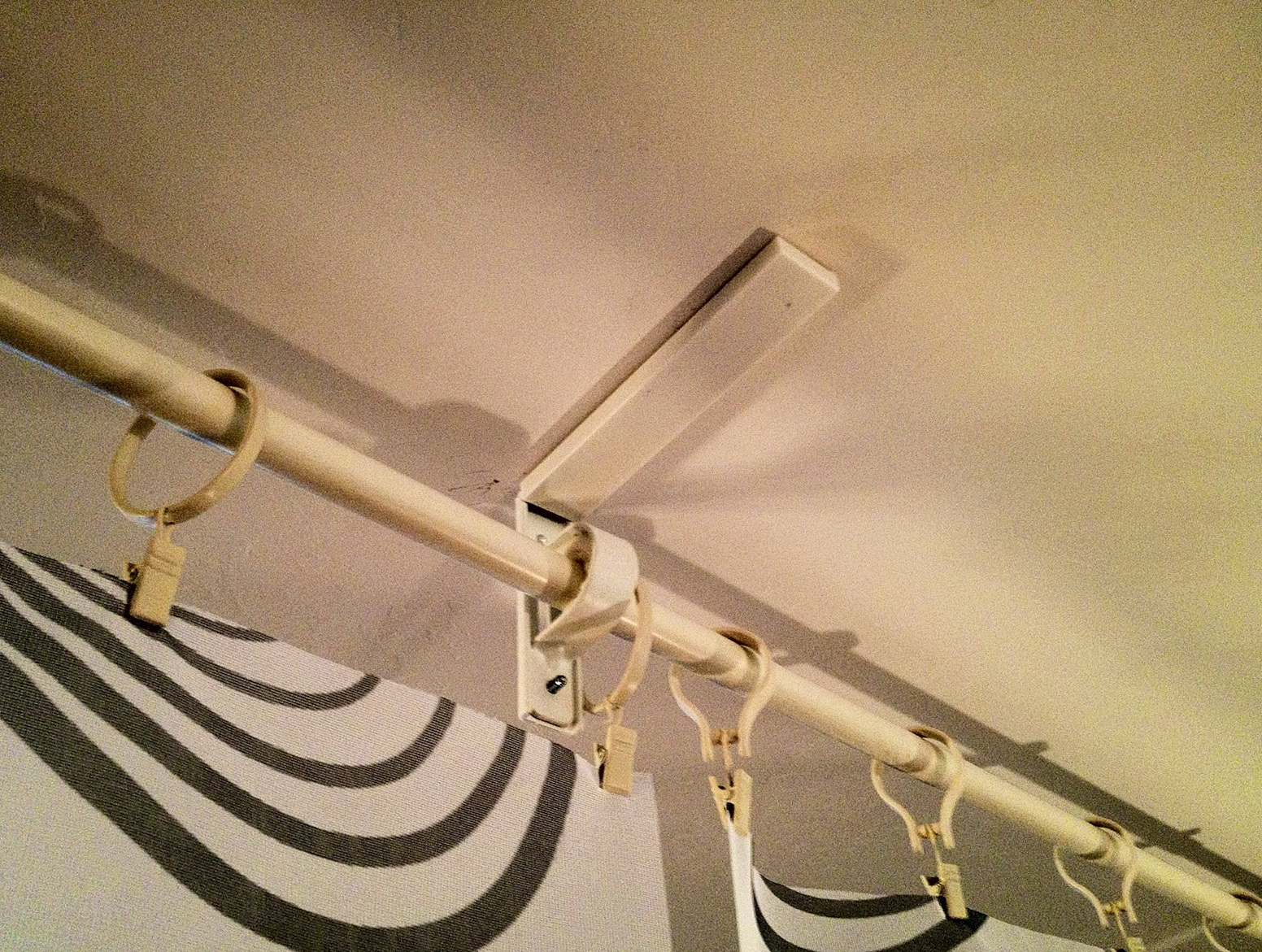 Curved Curtain Rod For Room Divider