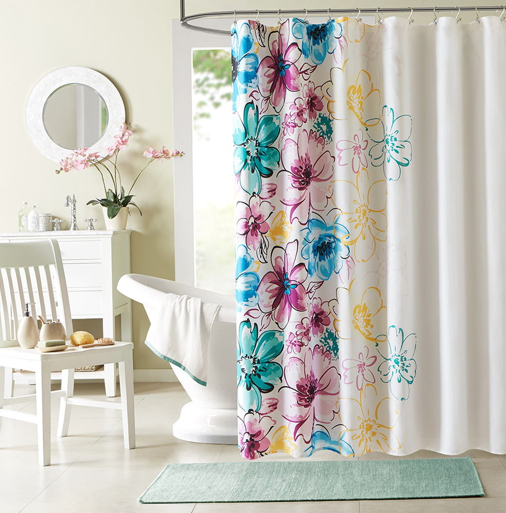 Designer Shower Curtains Online Home Design Ideas