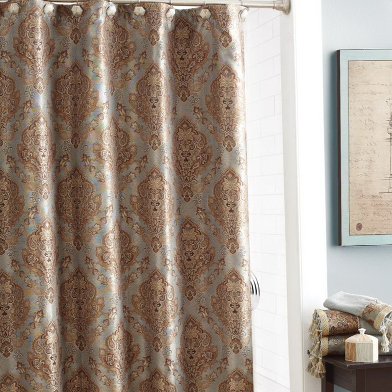 Designer Shower Curtains With Valance