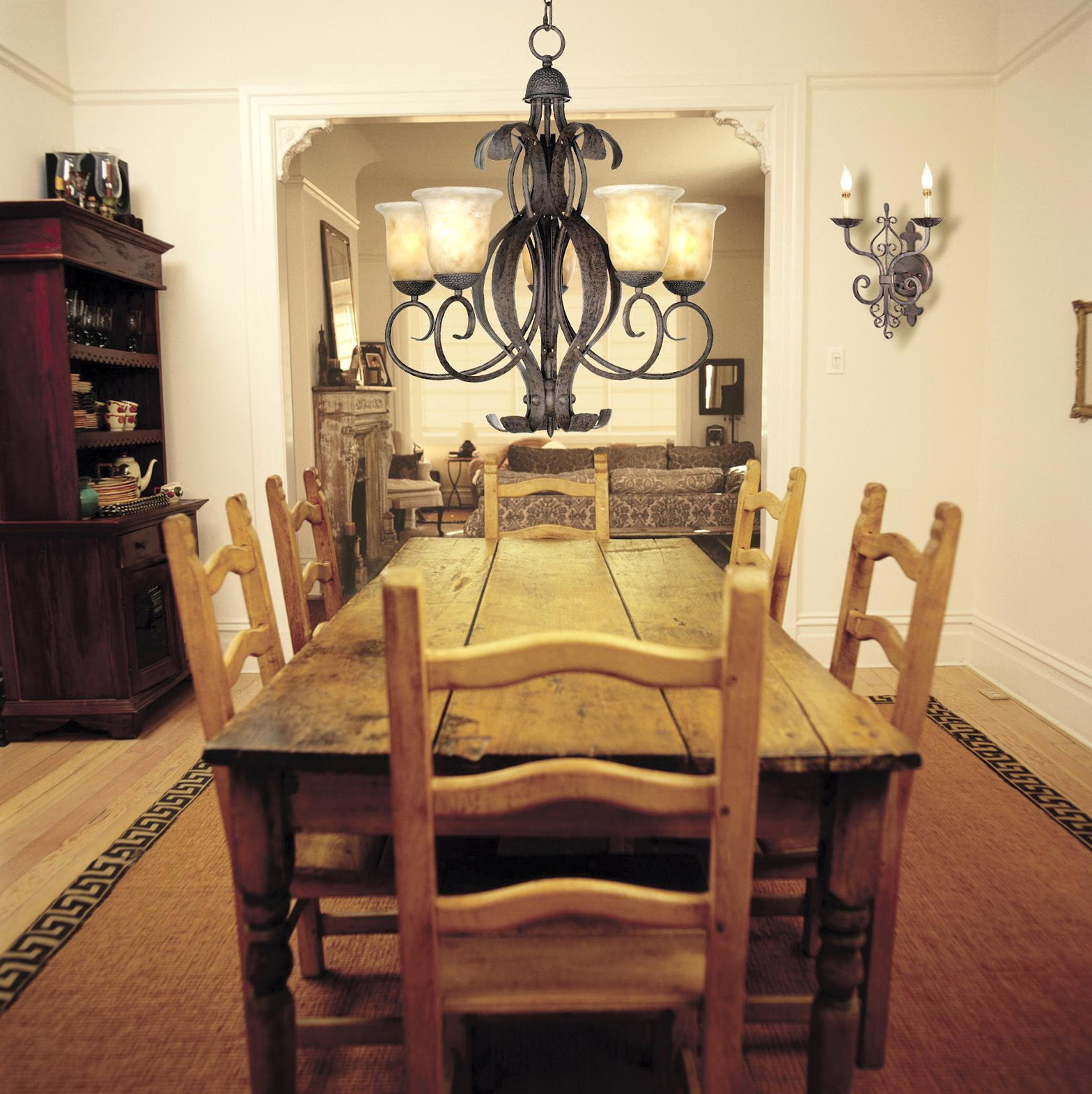 Dining room chandelier height from table home design ideas - Dining room chandelier height ...