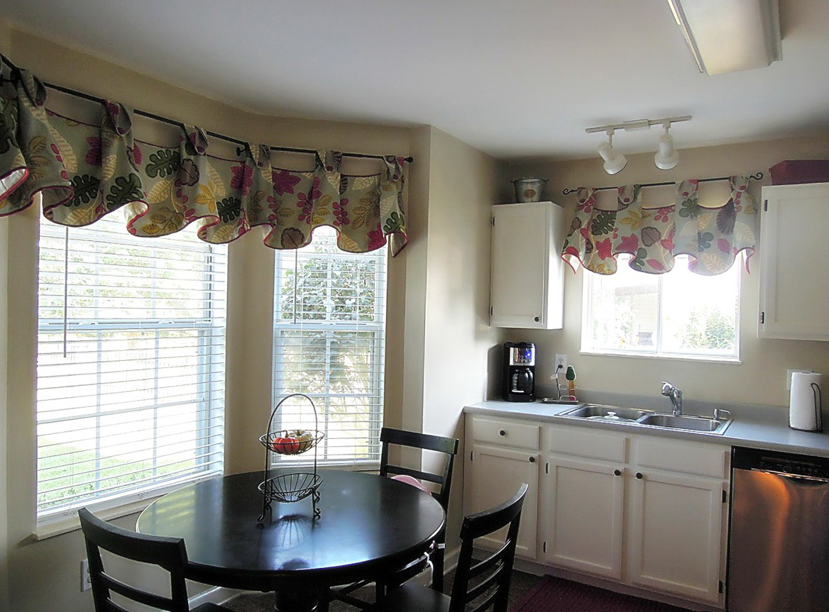 Dining Room Curtains For Bay Windows Home Design Ideas