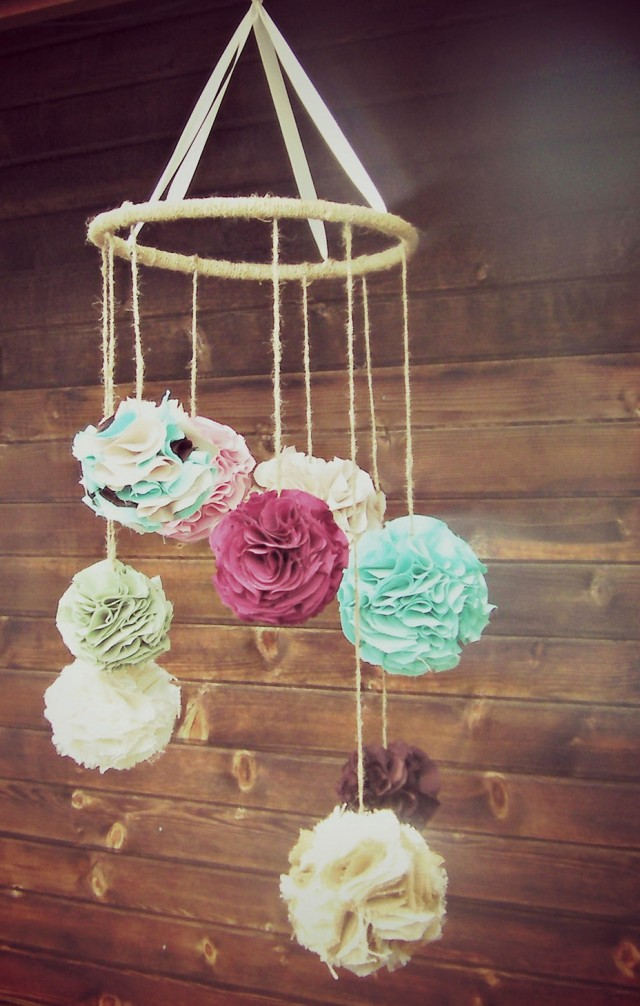 Diy Chandelier For Baby Room