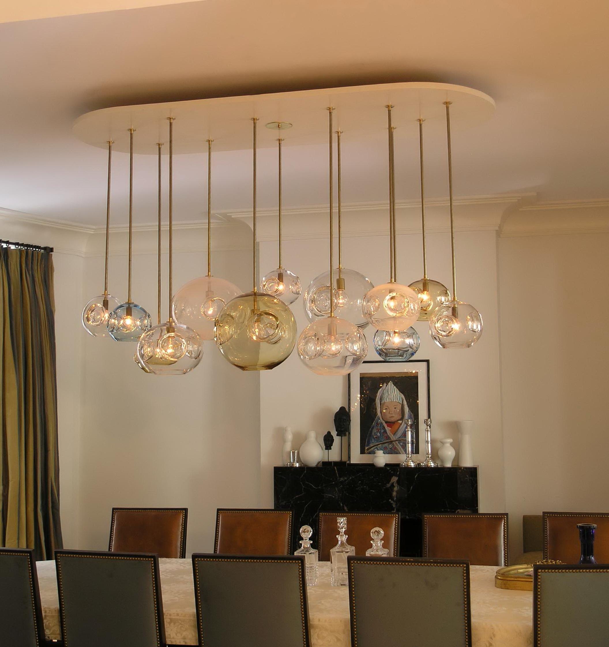 Diy chandelier ideas dining room best home design 2018 for Dining room diy ideas