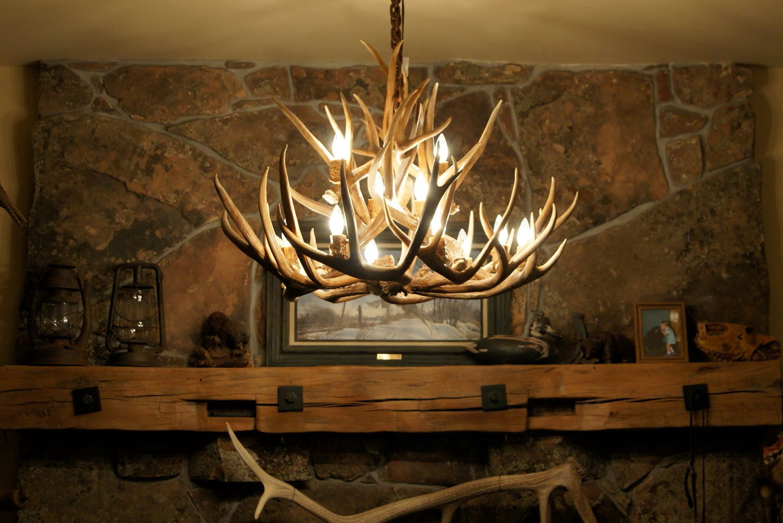 Diy deer antler chandelier home design ideas diy deer antler chandelier mozeypictures Choice Image