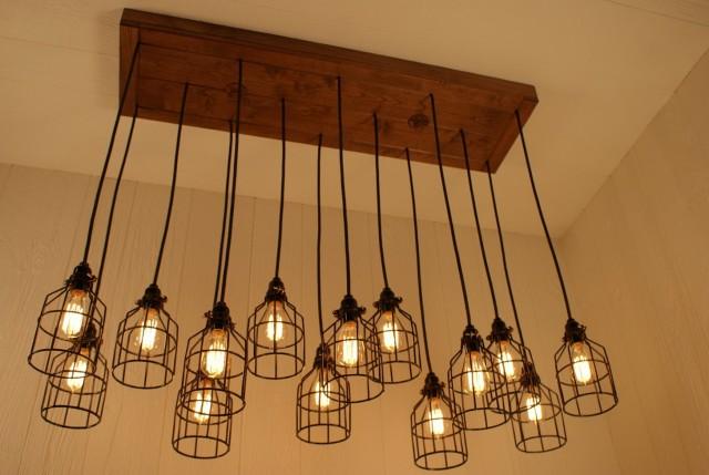 Diy Edison Light Bulb Chandelier