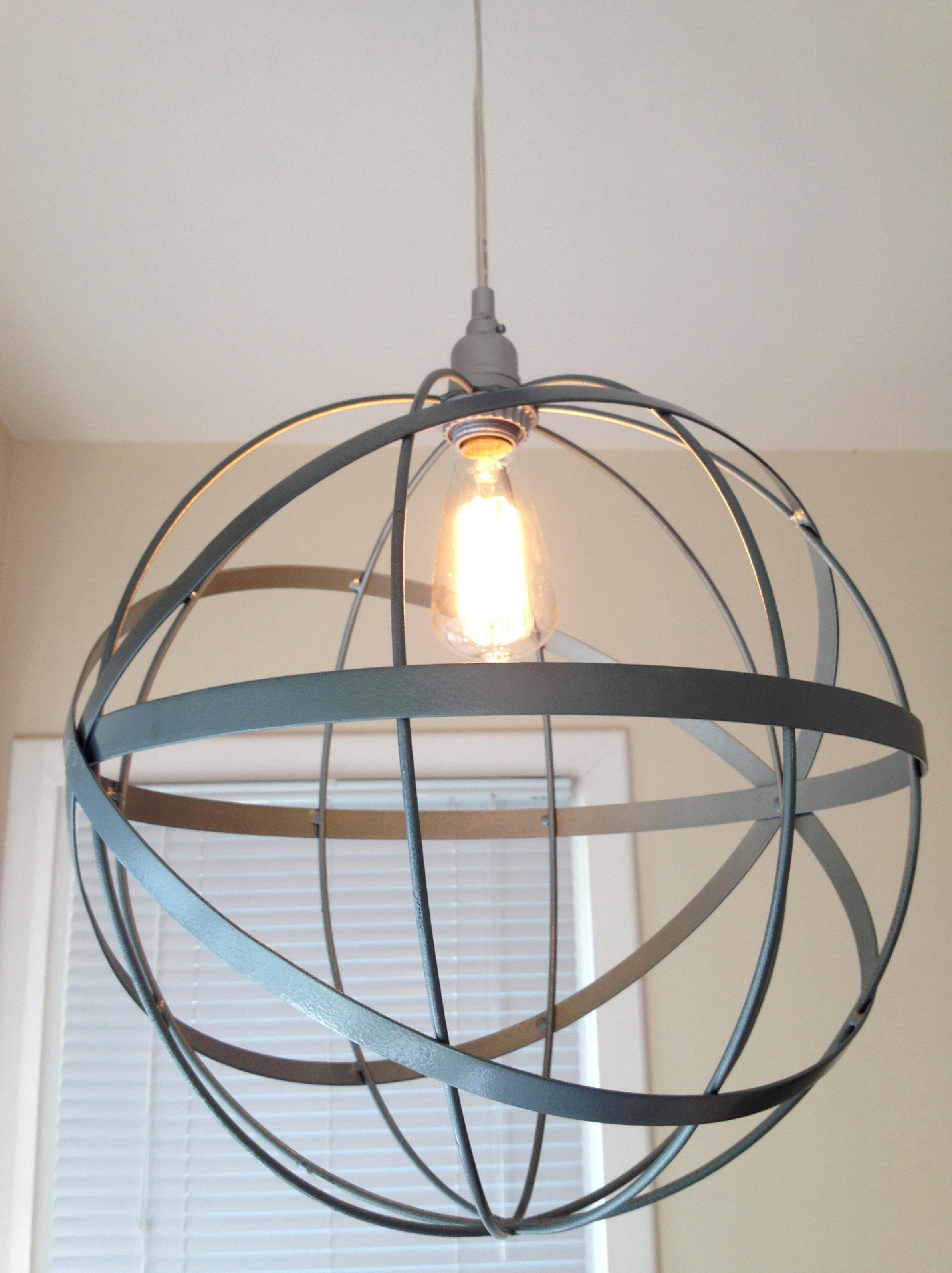 How to make a metal orb chandelier chandelier designs diy metal orb chandelier home design ideas aloadofball Images