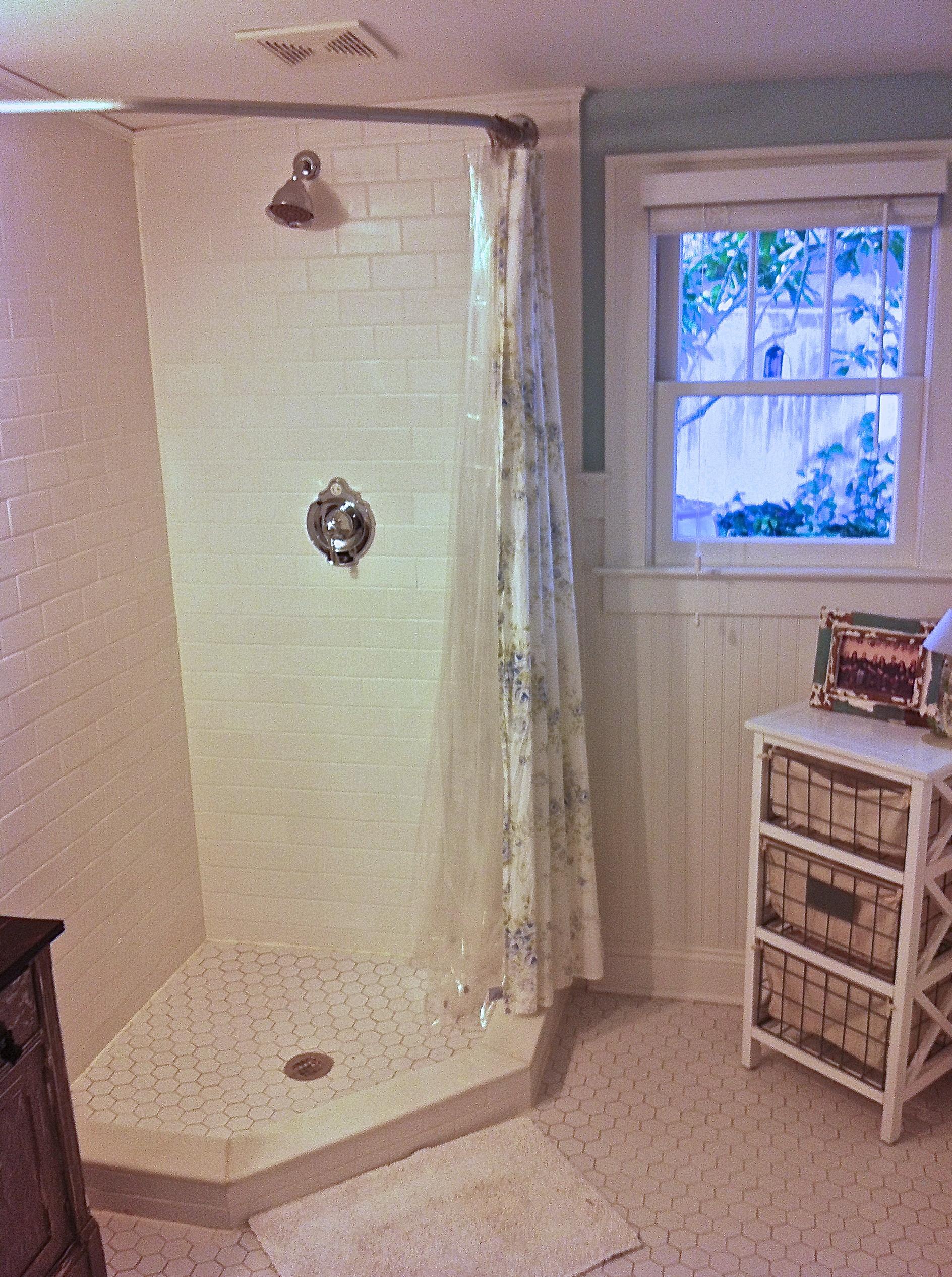 Diy Round Shower Curtain Rod Home Design Ideas