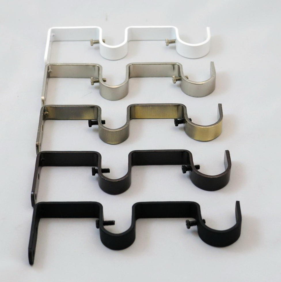 inch curtain diameter brackets up double bracket to products rod urbanest adjustable rods