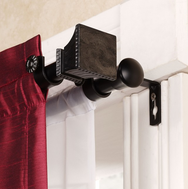 Double Curtain Rod Images
