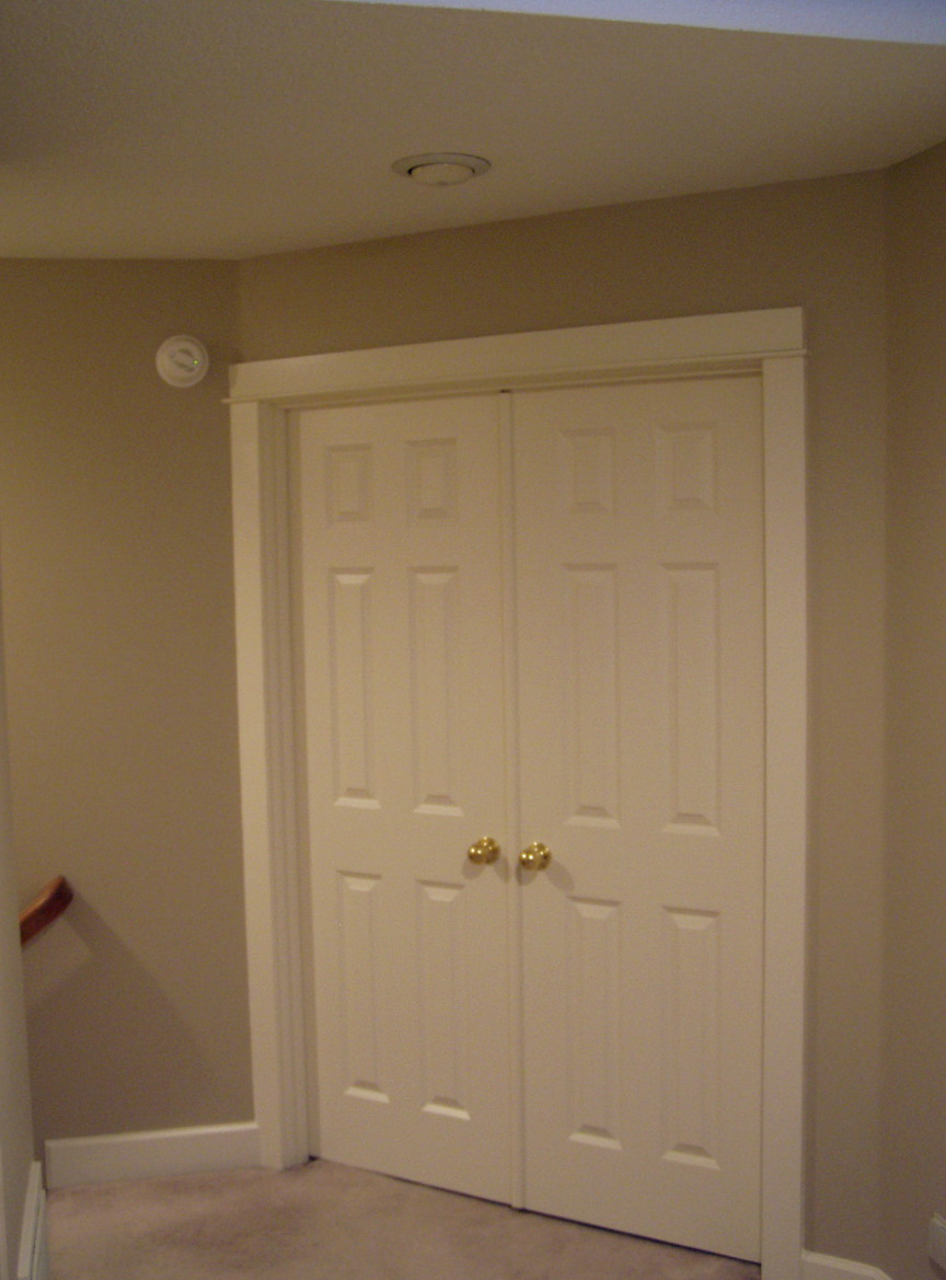 Double Door Closet Dimensions