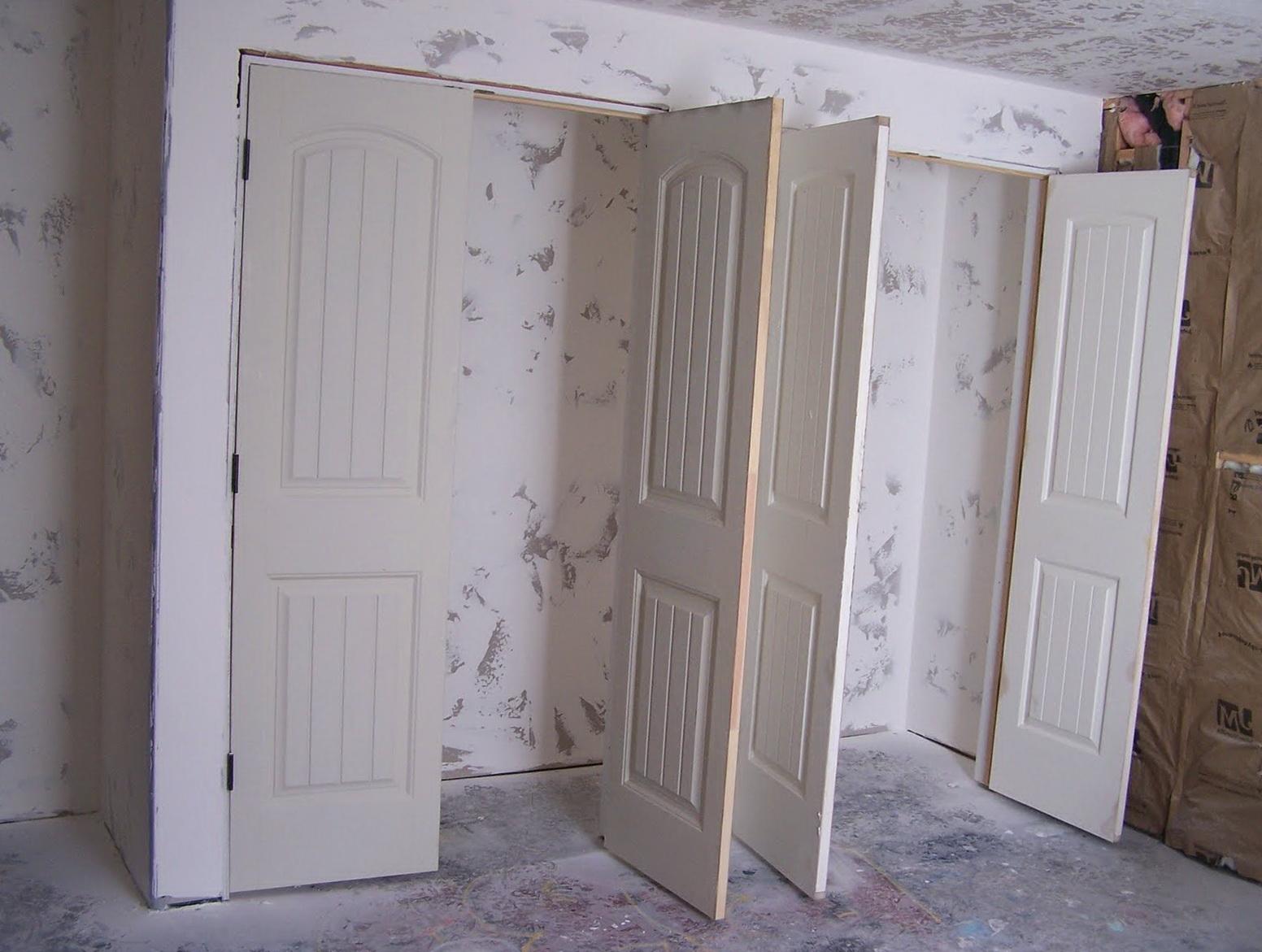 Double Door Closet Ideas