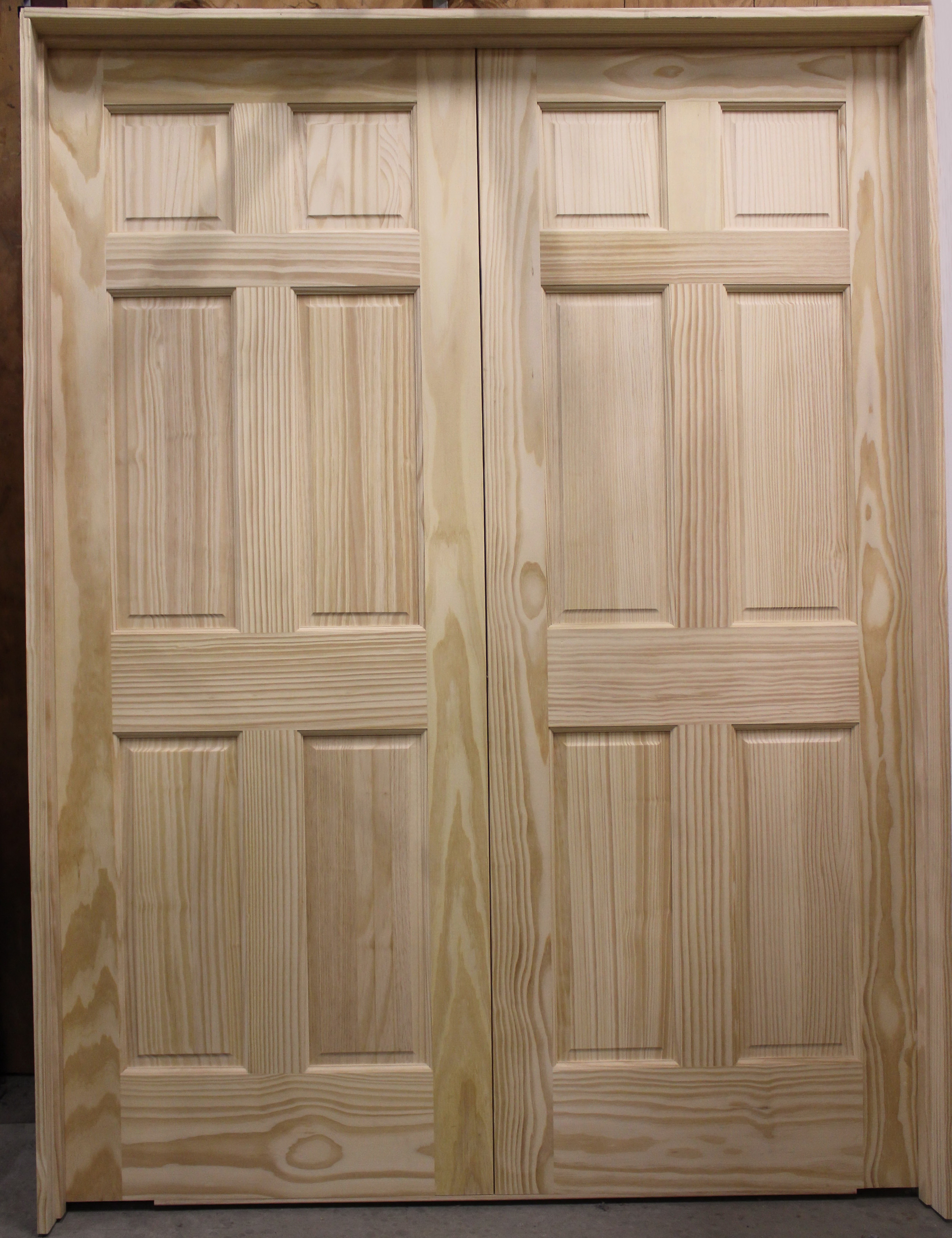 Lovely Double Hung Closet Door