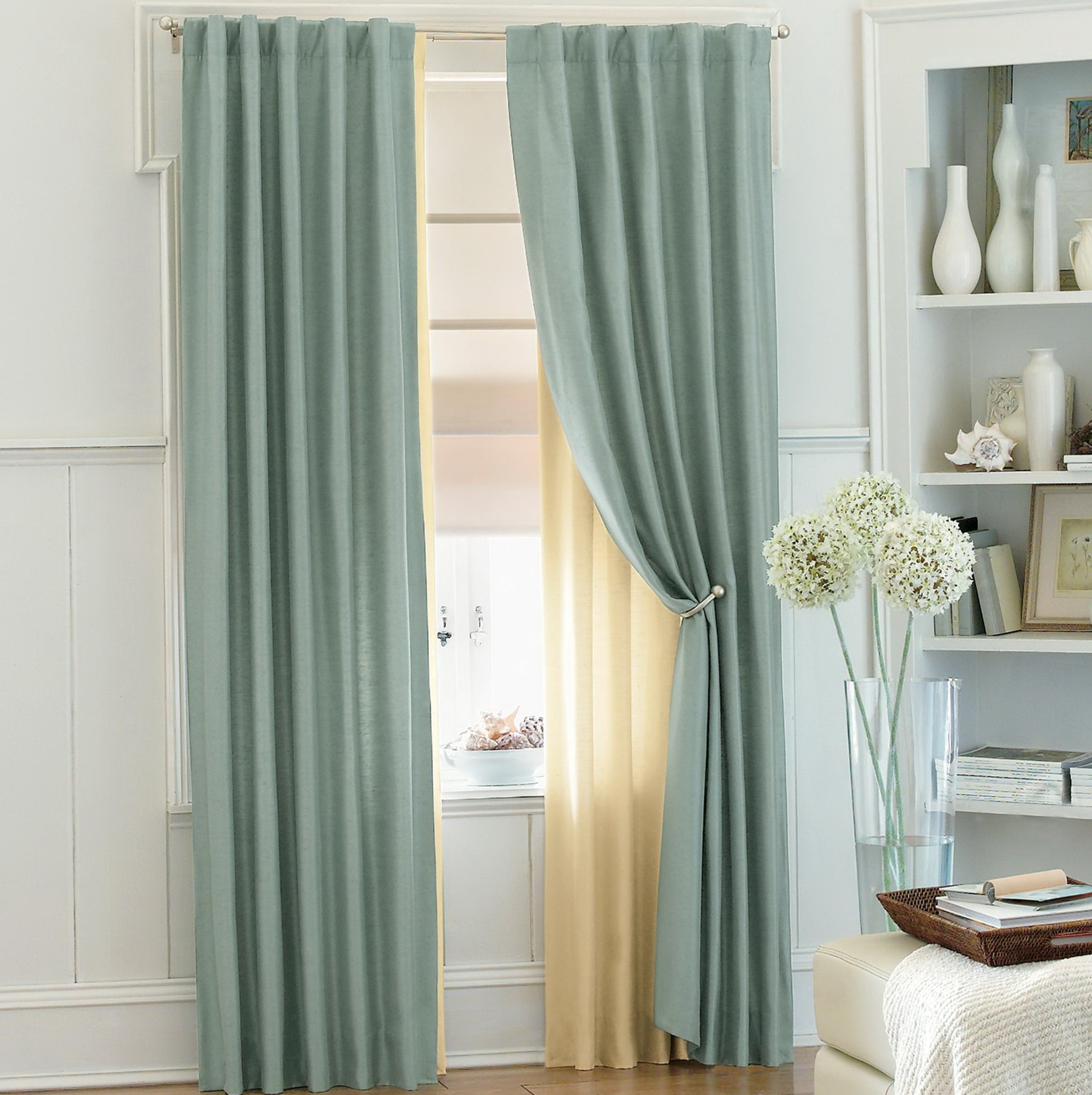 Home Design Ideas Curtains: Double Window Curtain Ideas