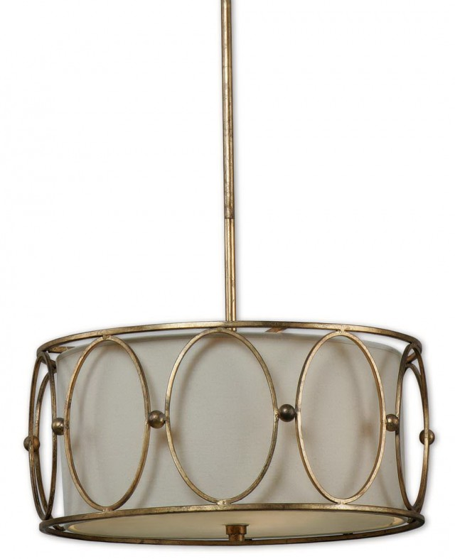Drum Pendant Chandelier Lighting