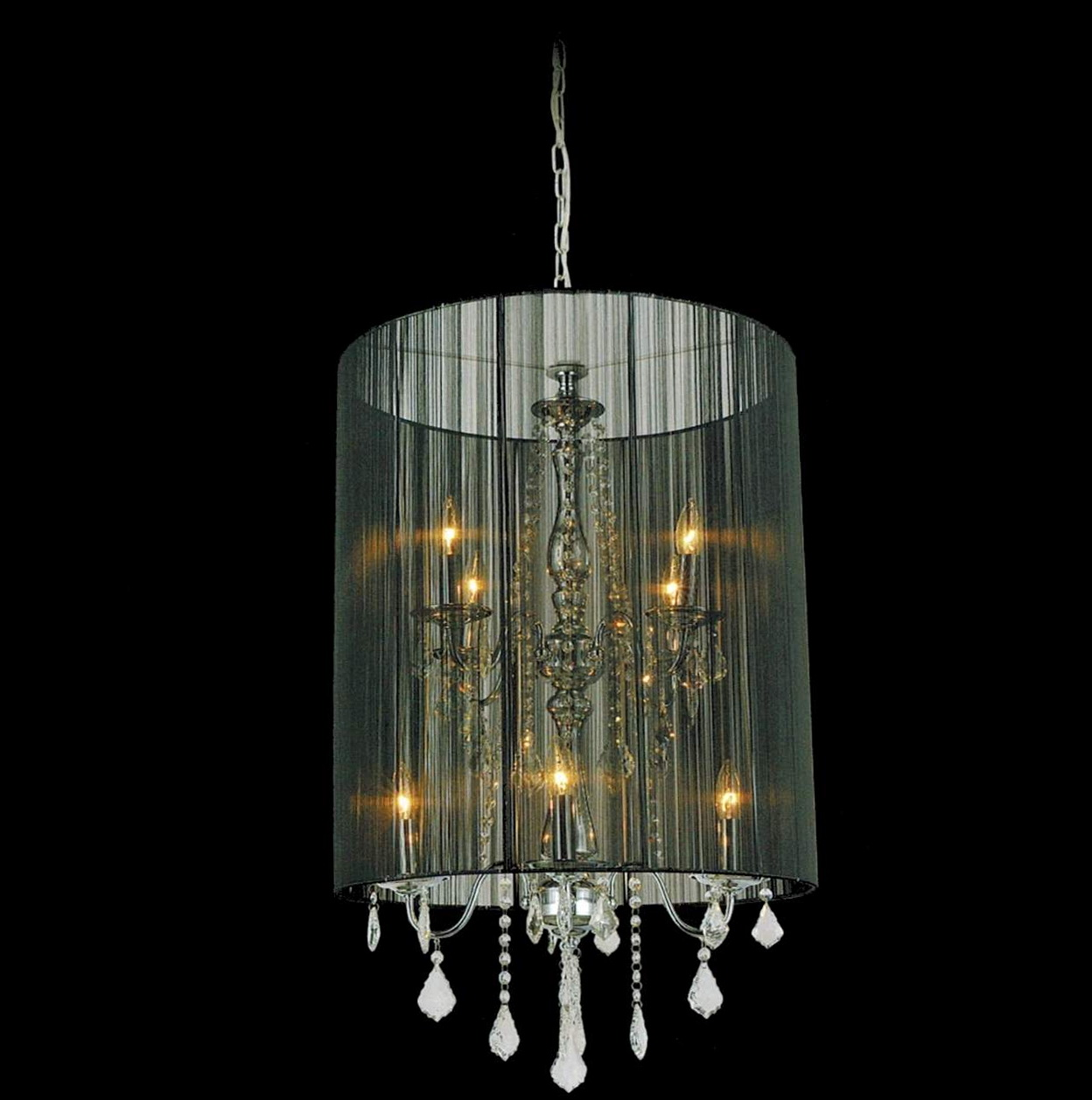 Drum Shade Chandeliers Pottery Barn Home Design Ideas