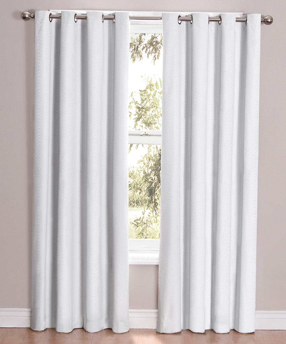 Eclipse Blackout Curtains White Home Design Ideas