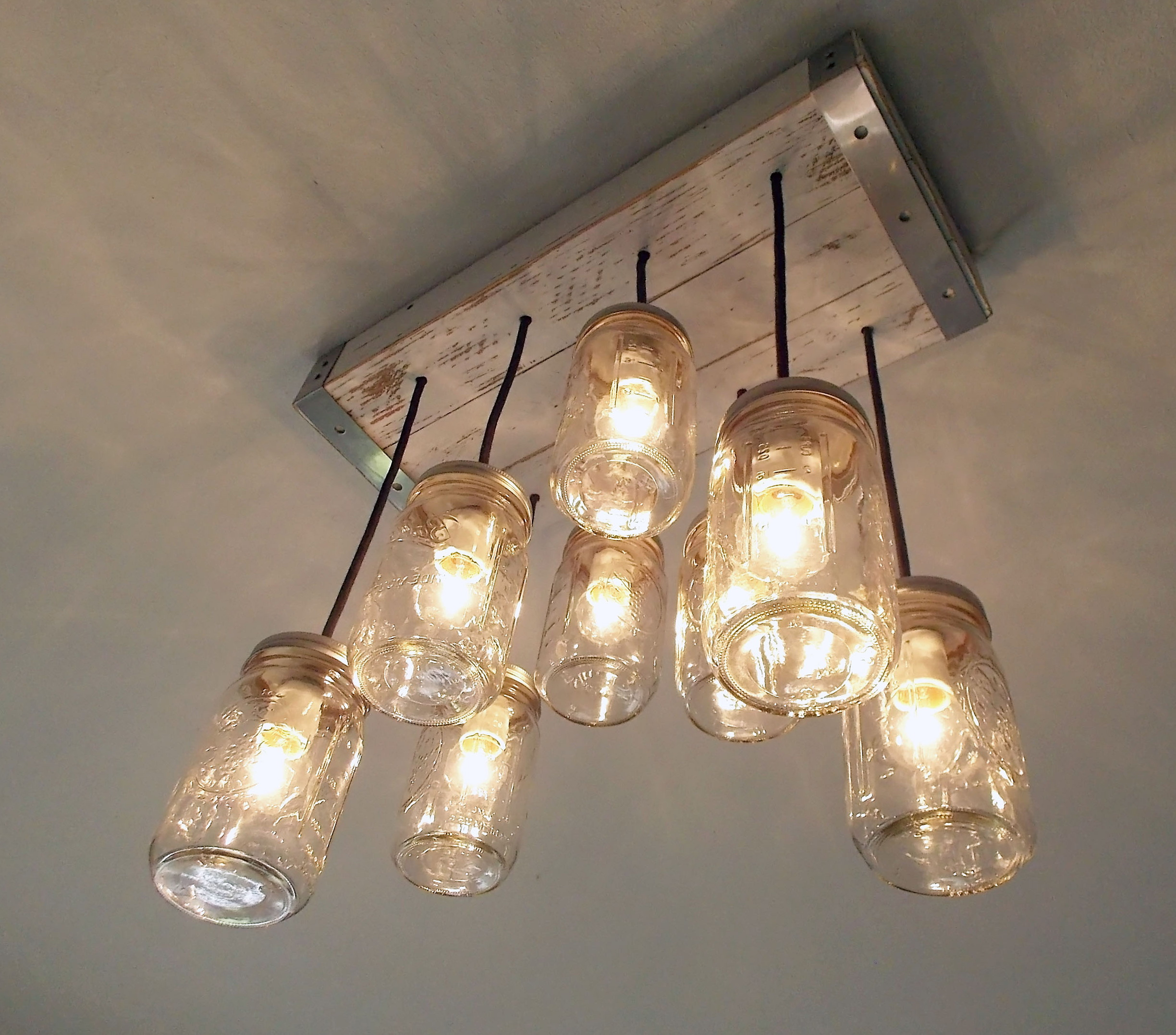 Edison Bulb Chandelier Mason Jar Lighting Mason By: Edison Bulb Chandelier Mason Jar