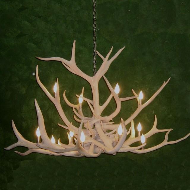 Elk Antler Chandelier Lighting