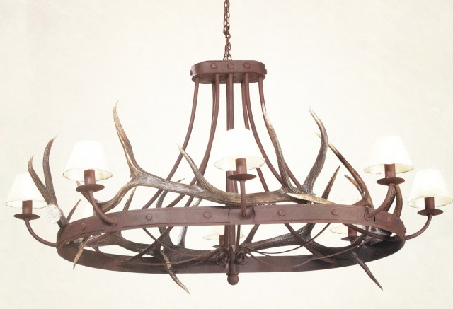 Extra Large Rustic Chandeliers