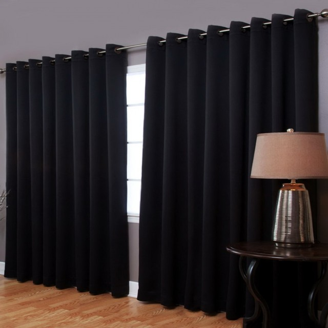 Extra Wide Blackout Curtains
