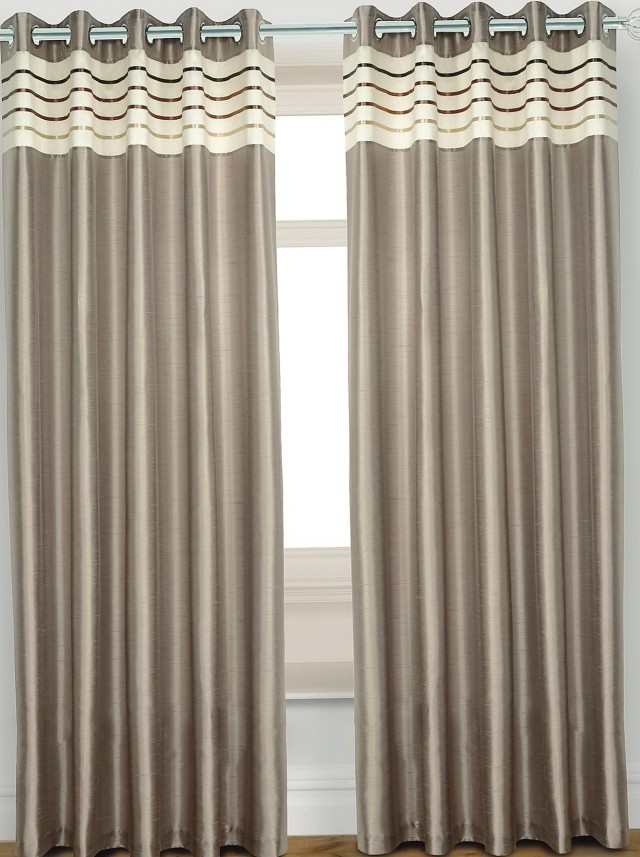Faux Silk Curtains Uk