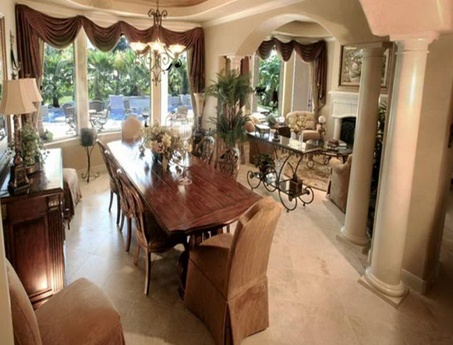 Formal Dining Room Curtains