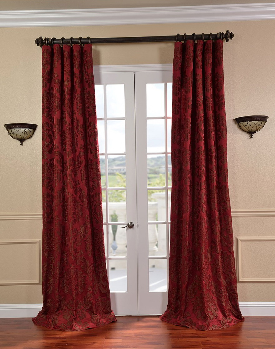 French Door Curtains Blackout Home Design Ideas