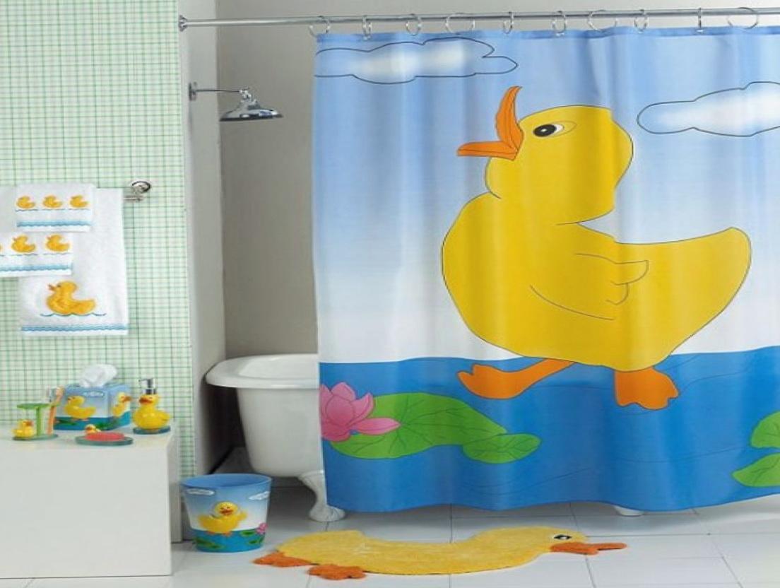Fun kids shower curtains home design ideas for Fun kids bathroom