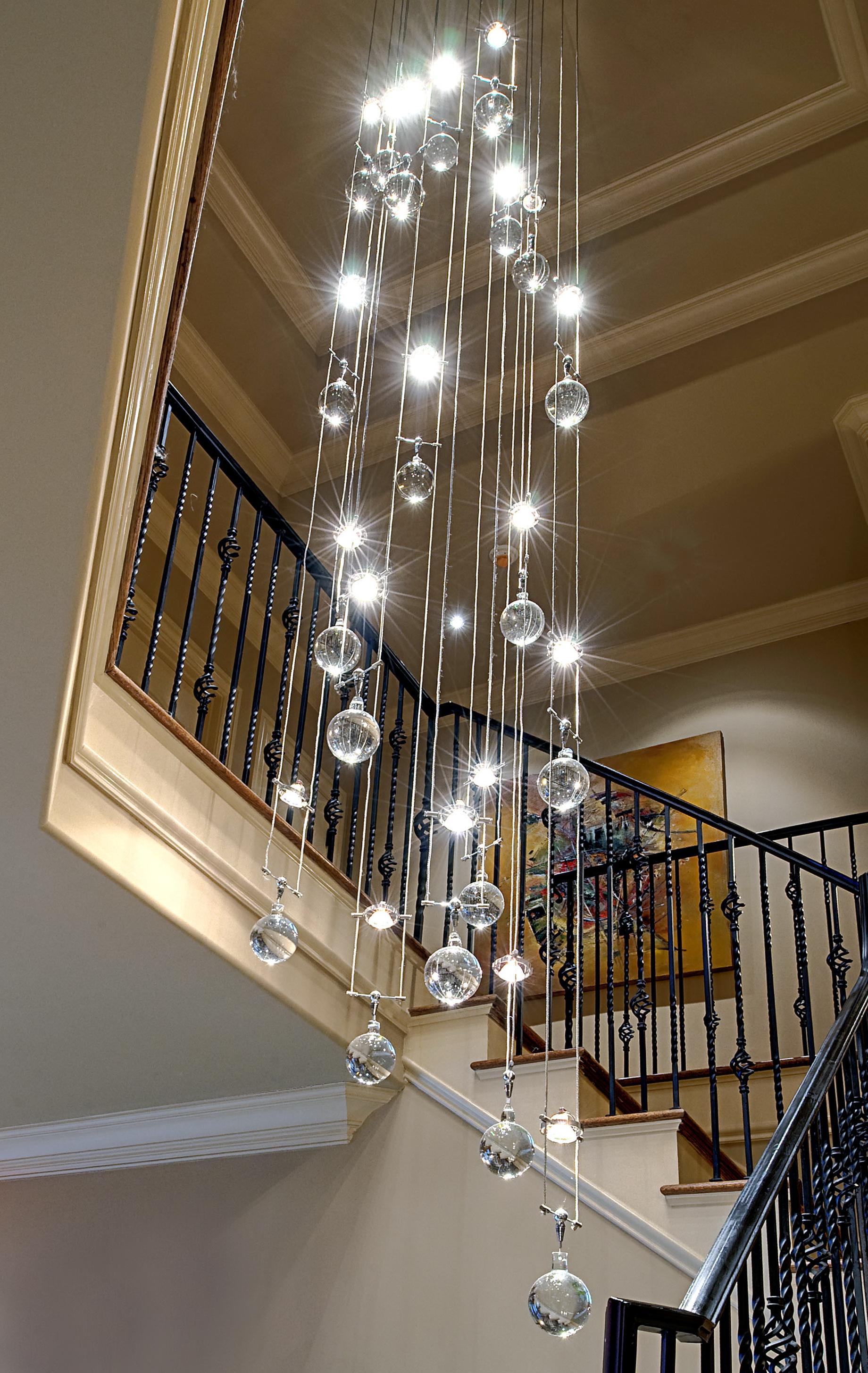 Glass bubble light chandelier home design ideas glass bubble light chandelier arubaitofo Image collections