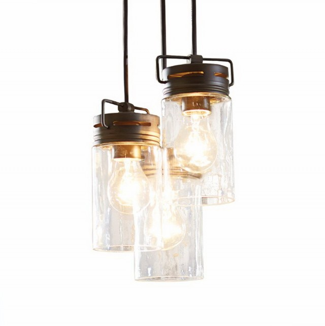 Glass Jar Chandelier Lowes