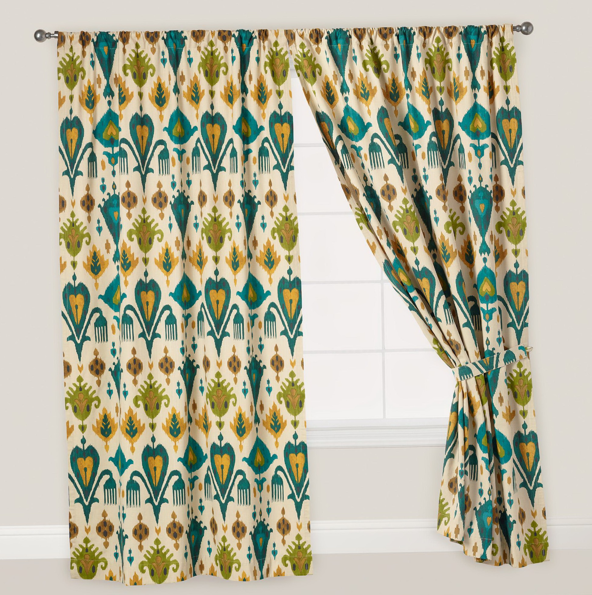 Gray Teal And Yellow Curtains Home Design Ideas