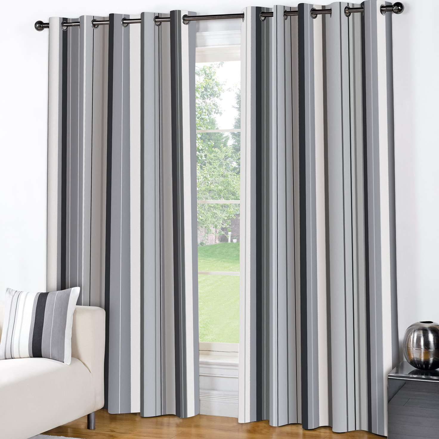 Grey And White Curtains Uk