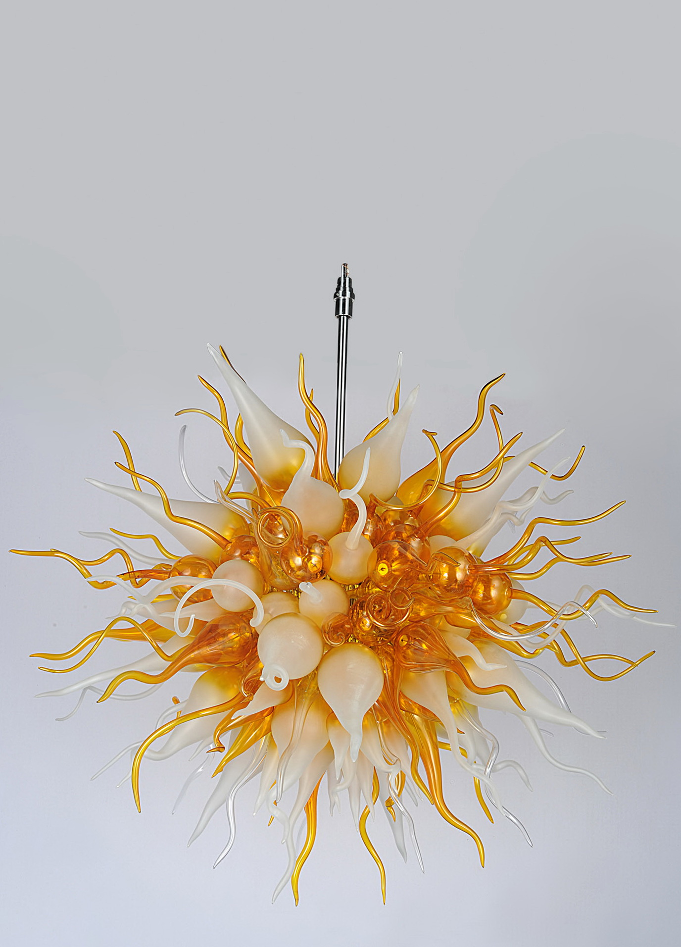 Hand Blown Glass Chandeliers