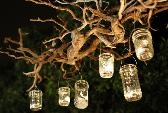 Hanging Candle Chandelier Outdoor
