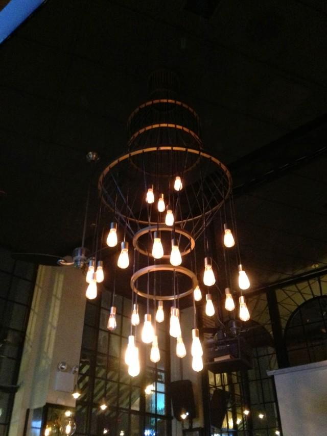 Hanging Edison Bulb Chandelier