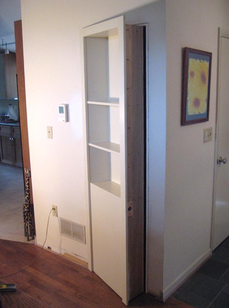 Hidden Closet Door Hinges