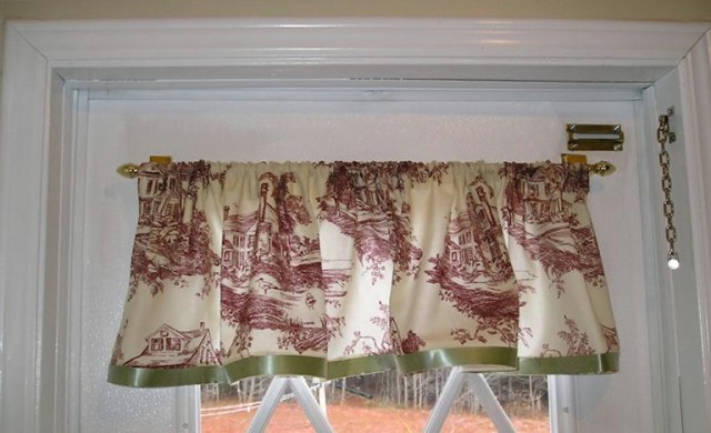 Homemade No Sew Curtains