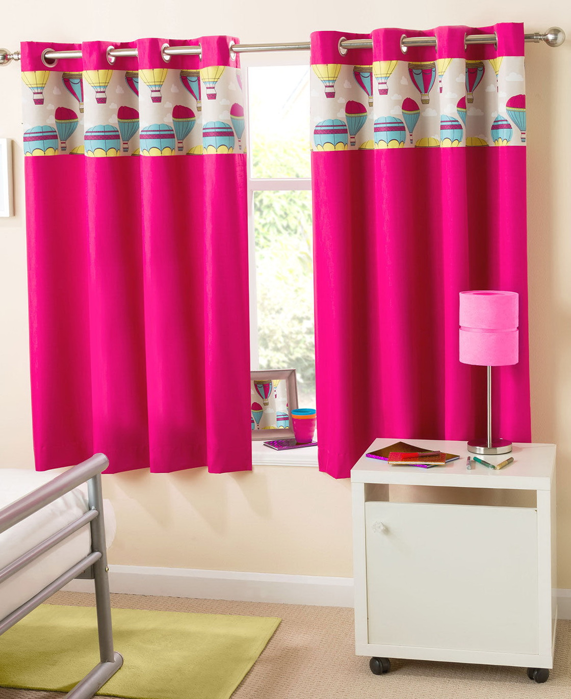 Hot Pink Blackout Curtains Home Design Ideas