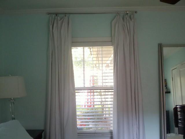 Ikea Blackout Curtains White