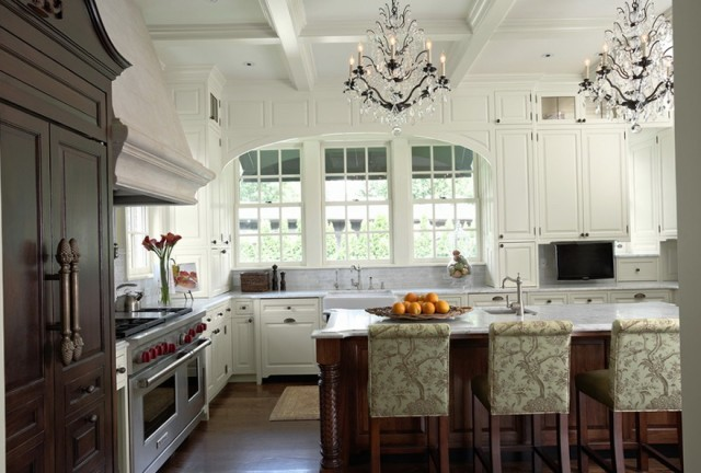 Images Of Chandeliers In Kitchens