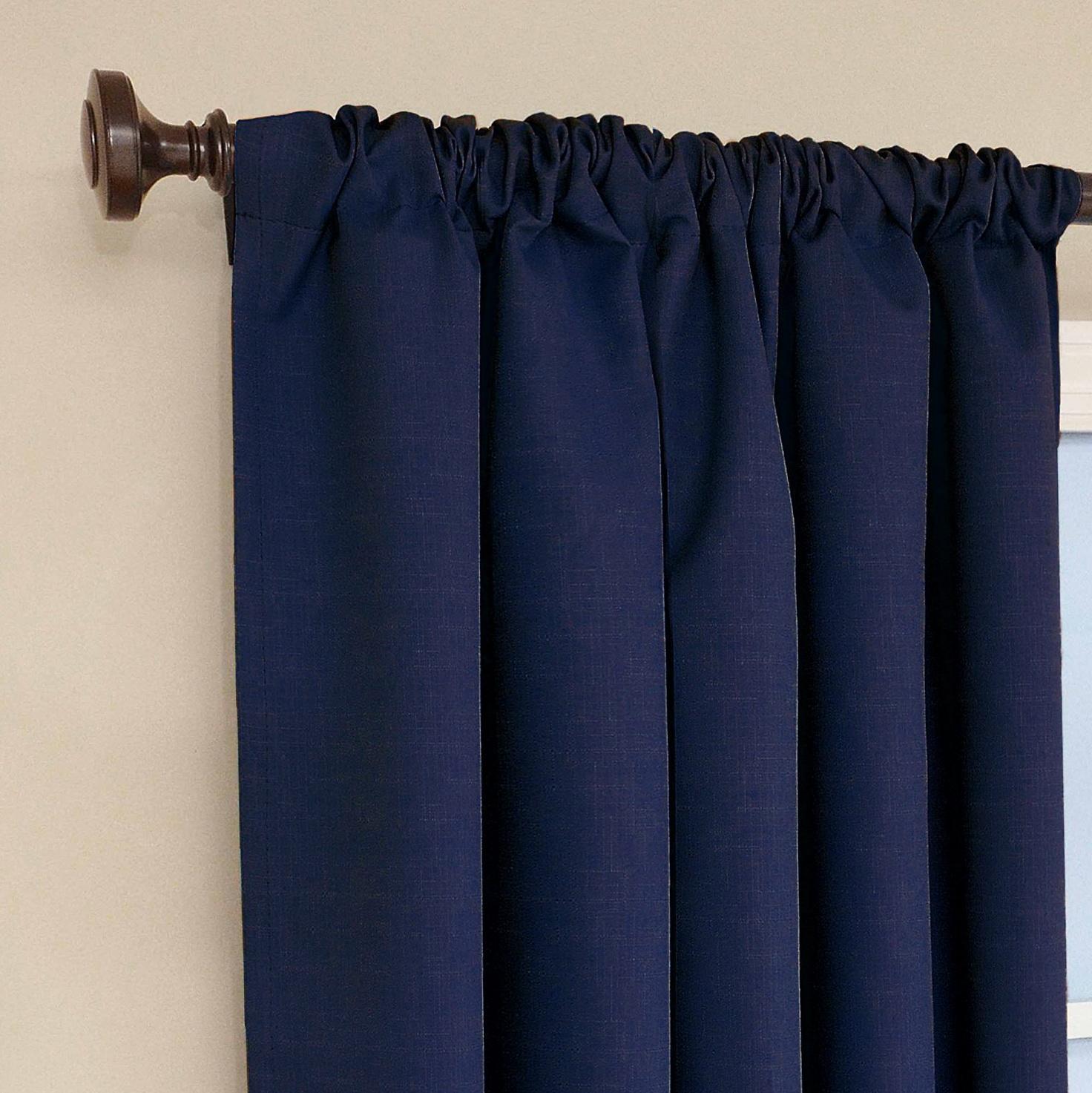 Kids Blackout Curtains Blue